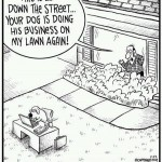 Friday Funny:  Dogs doing their business