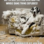Friday Funny:  Exploding Couch
