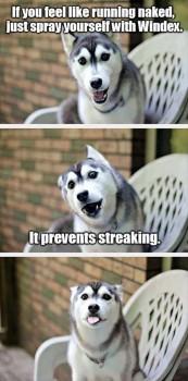 No streaking