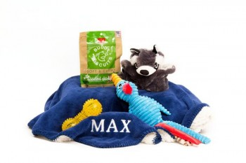 One of the site's best sellers, the BFF Dog Gift Pack.
