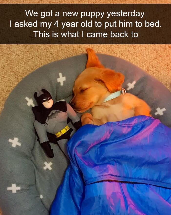 Bedtime with Batman