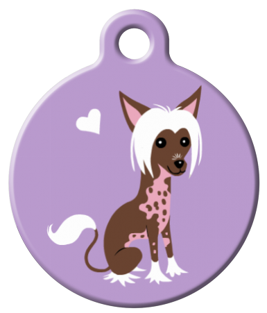 Chinese Crested from Dog Tag Art