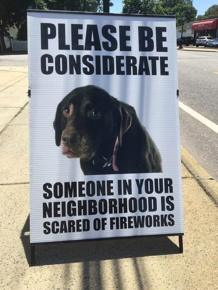 Fireworks Considerate