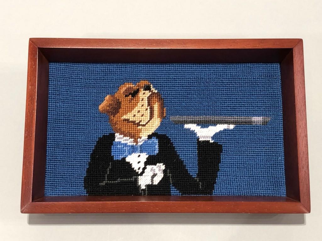 Bulldog Butler Tray