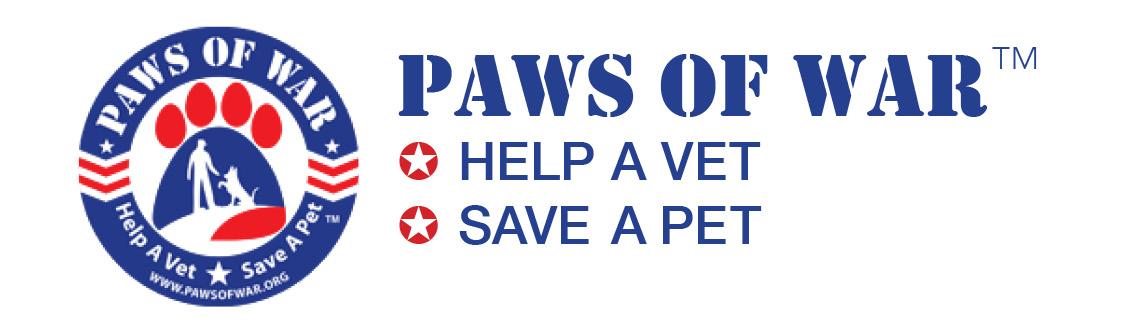 Paws of war logo