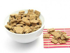 Dog Cookies in a Bowl