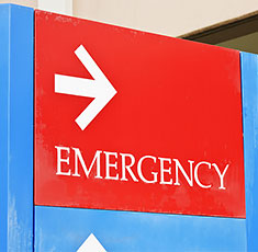 Hosiptal Emergency Sign